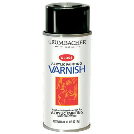 Grumbacher Hyplar Gloss Varnish, 12.75 oz.