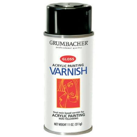 Ronseal Quick Dry Varnish - Grumbacher Hyplar Gloss Varnish, 12.75 oz.