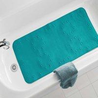 Mainstays 17 In. x 36 In. Soft Foam Bath Mat, Teal