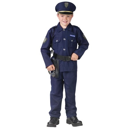 Boys Policeman Uniform Halloween Costume