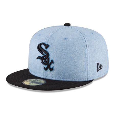5645a94cca7 Chicago White Sox New Era 2018 Father s Day On Field 59FIFTY Fitted Hat -  Light Blue