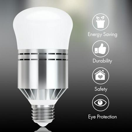 Yosoo Dusk to Dawn Light Bulbs, Haofy Smart Sensor LED Bulb E27 Built-in Photosensor Detection,sensor bulb