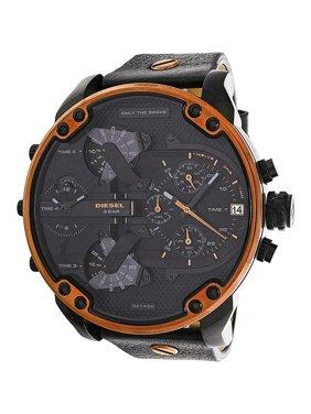 aba0be464325 Product Image Men s Mr. Daddy 2.0 DZ7400 Black Leather Quartz Fashion Watch