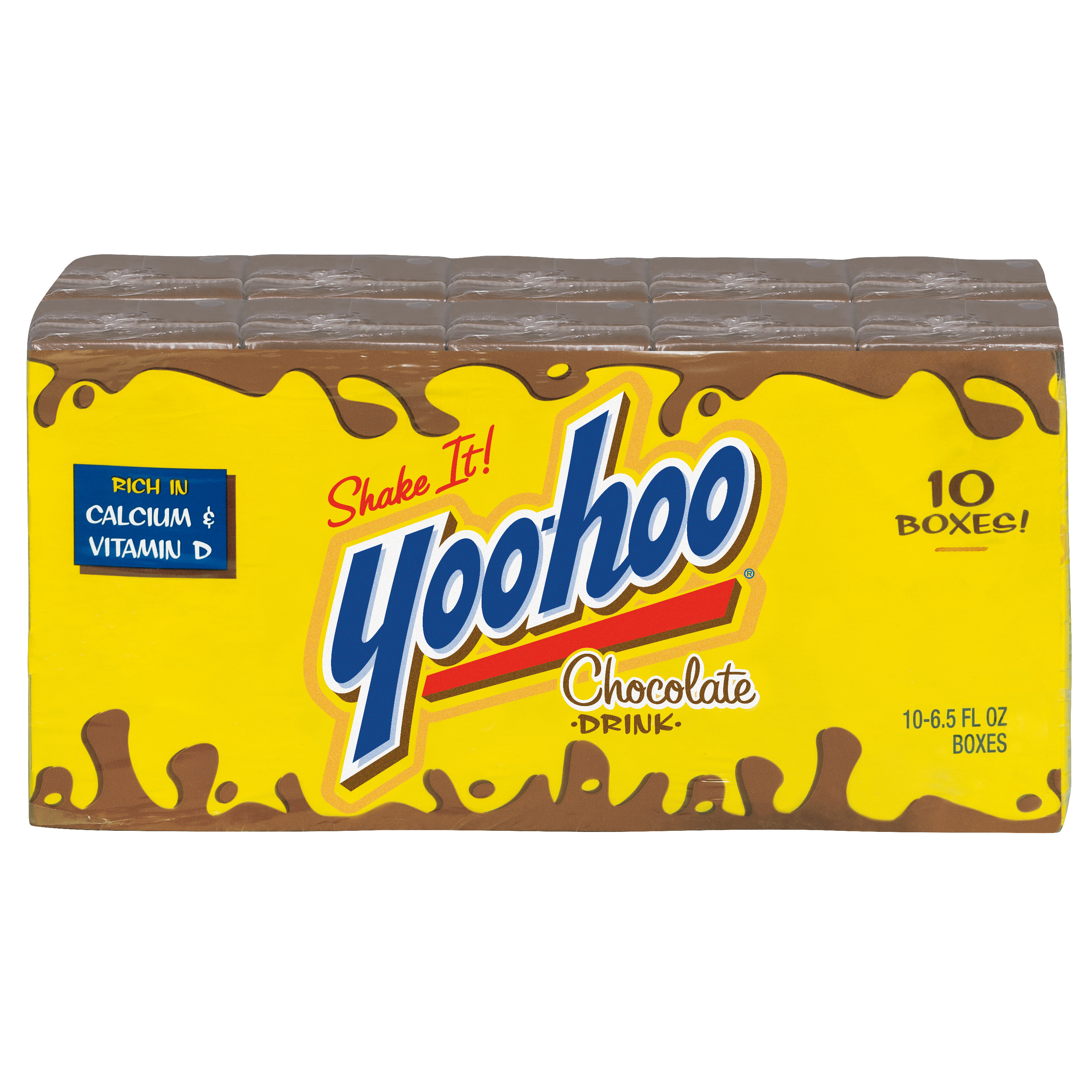 Yoo-hoo Chocolate Drink, 6.5 fl oz, 10 pack