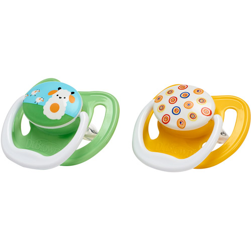 Dr. Brown's PreVent Orthodontic Pacifier, Stage 1, Birth to 6 Months