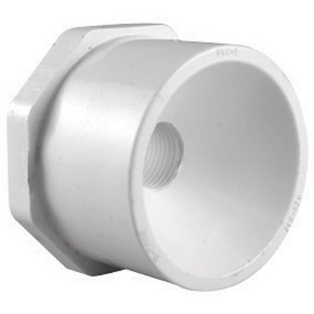 PVC 02107 1100 1.5 x 0.75 in. Slip Reducing Bushing - image 1 of 1