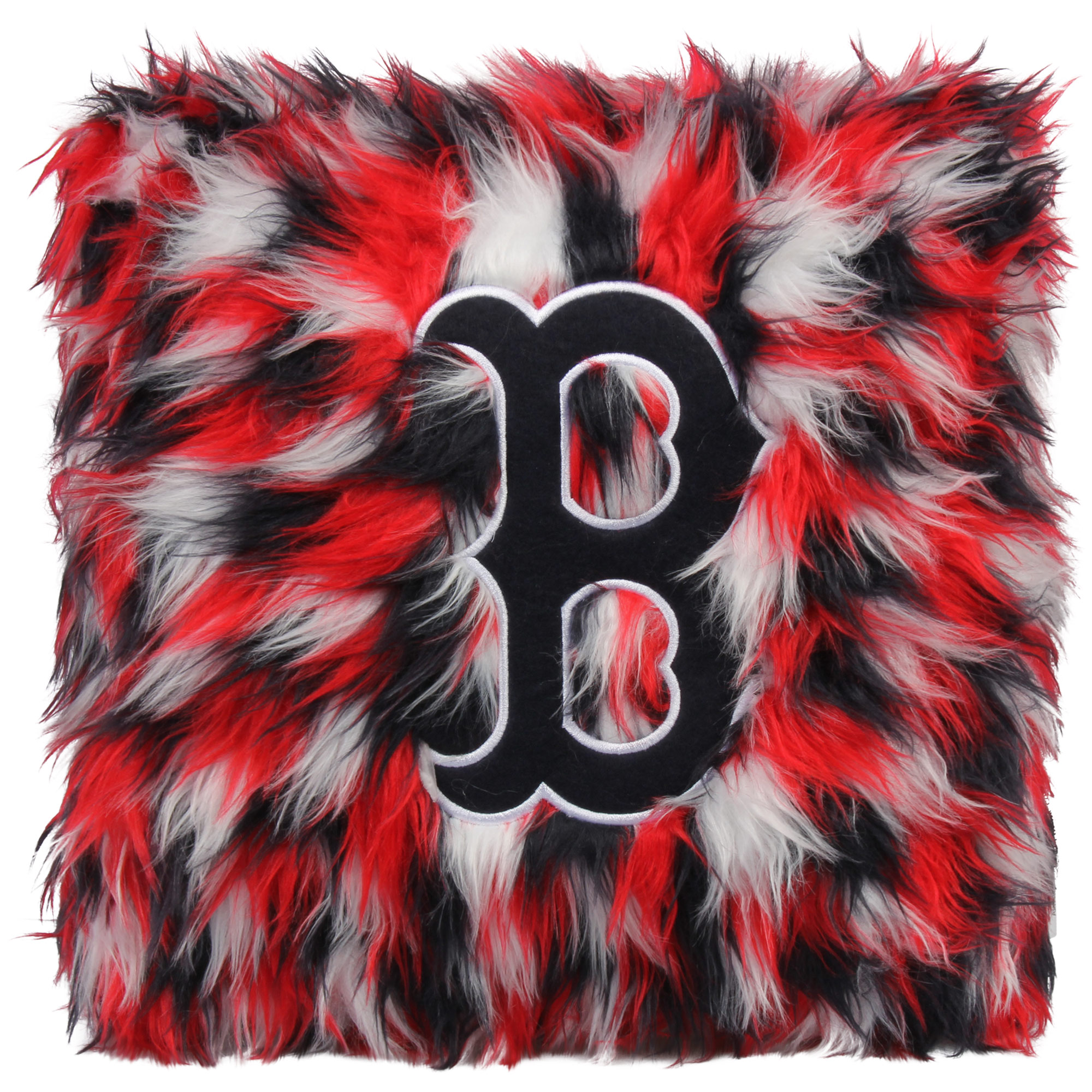 Boston Red Sox Fluffy Plush Pillow - No Size