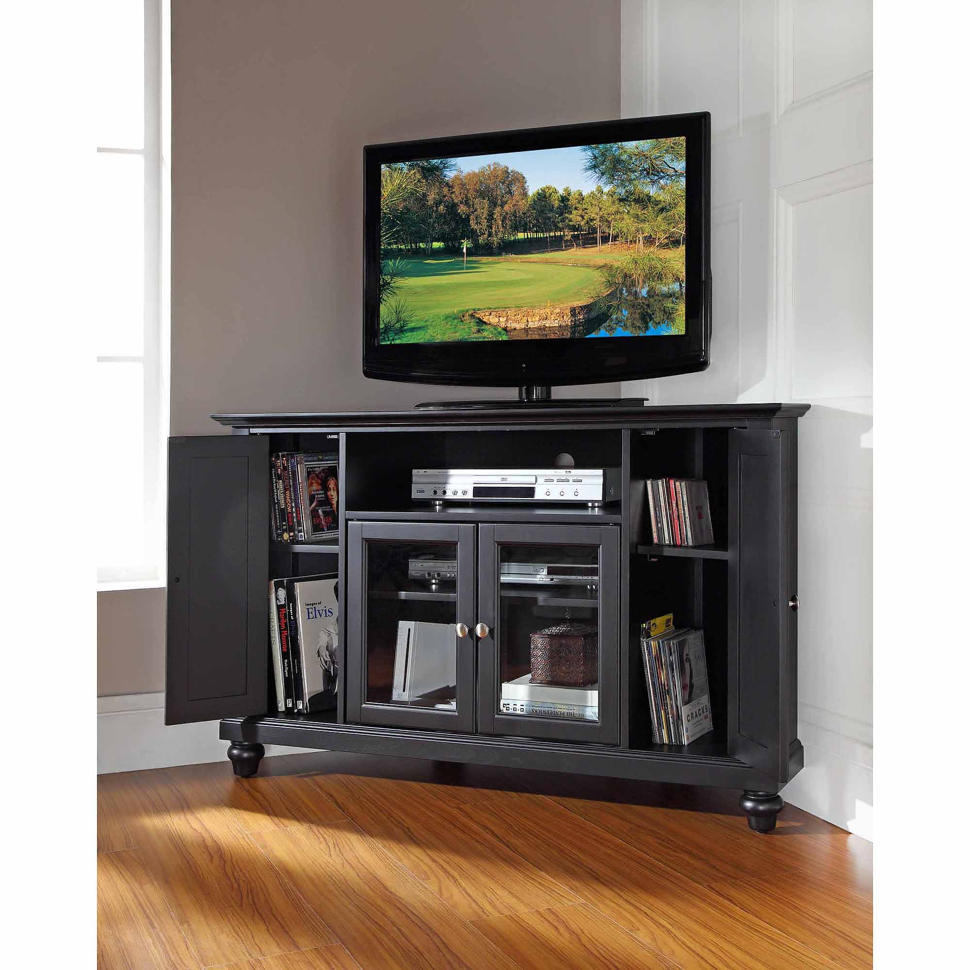 """Crosley Furniture Cambridge Corner TV Stand for TVs up to 48"""""""