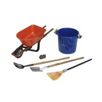Breyer Traditional Stable Cleaning Set Horse Accessory - 1:9 Scale