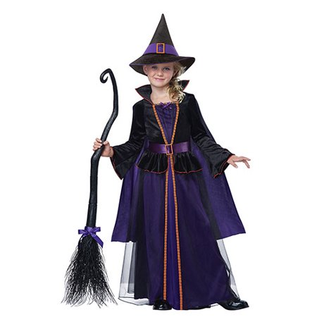 Childrens Witch Costumes (Hocus Pocus Witch Kids)