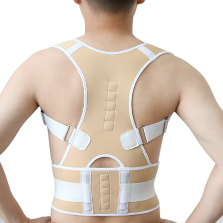 Unisex Fully Adjustable Posture Correction Shoulder Back Support Brace Belt