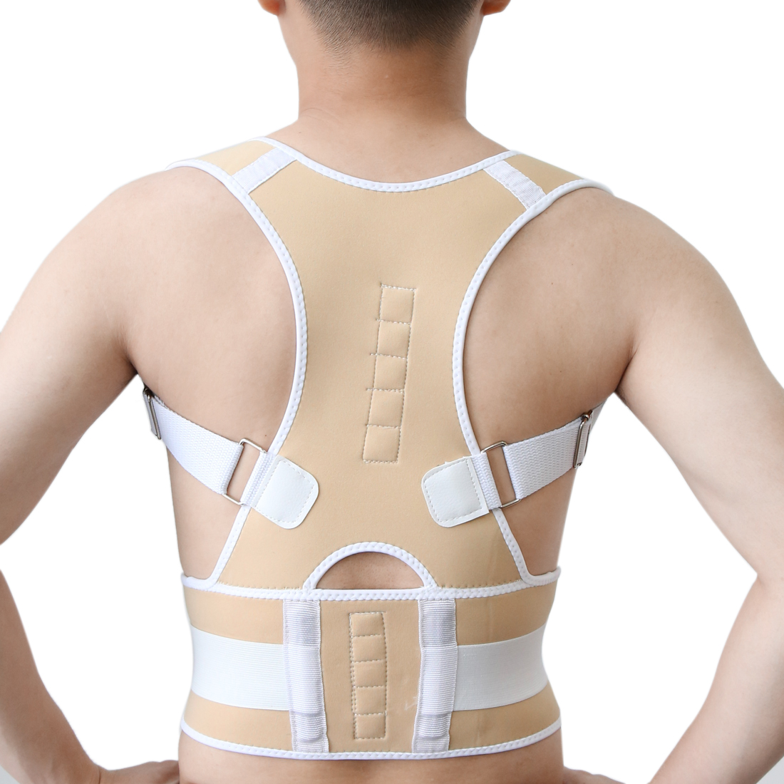 Fully Adjustable Brace Belt Band for Posture Correction Back Pain Support