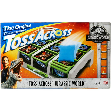 Toss Across Jurassic World Themed Game for 2-4 Players Ages 5Y+ - Safari Themed Games