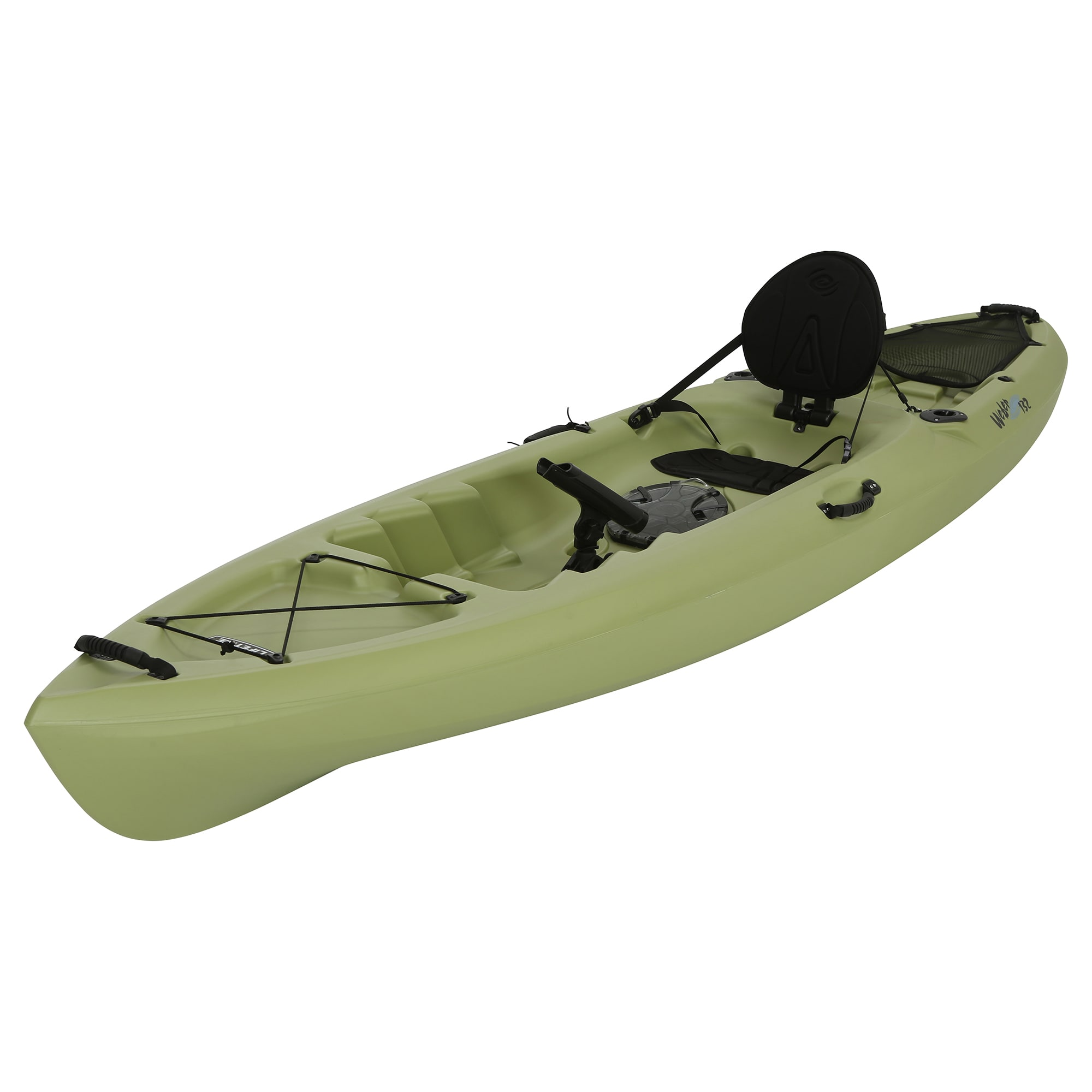 Lifetime Weber 11' Sit On Top Fishing Kayak, Light Olive