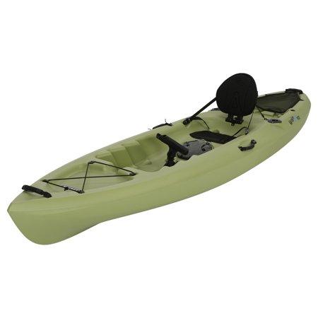 Lifetime Weber 11 Sit On Top Fishing Kayak  Light Olive