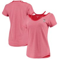 Toronto FC Antigua Women's Hitter Cut Out T-Shirt - Red/Gray