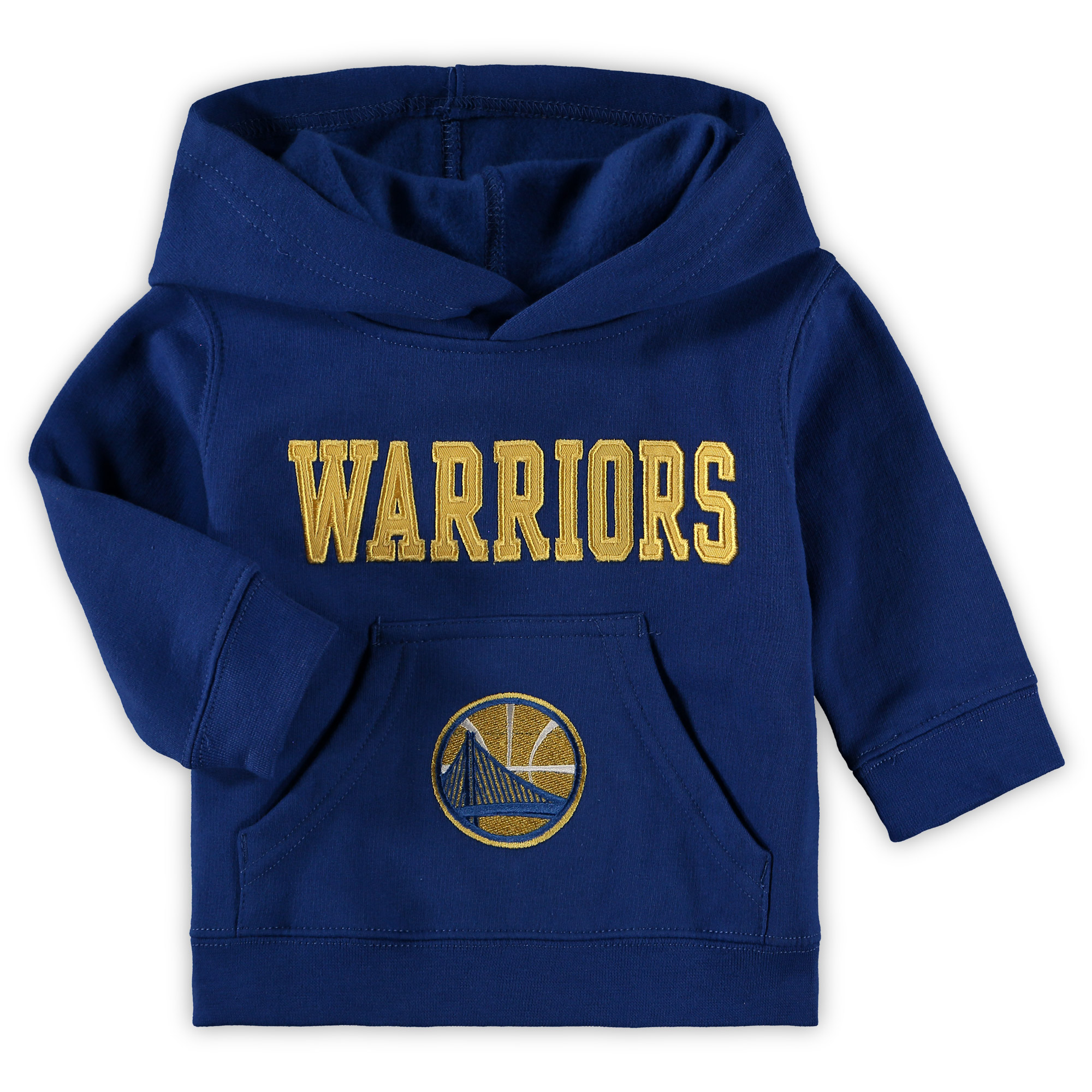 Infant Royal Golden State Warriors Team Pullover Hoodie