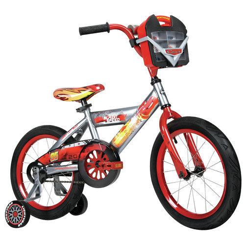 Huffy Huffy Disney Cars 16'' Bike with Car Case Accesory