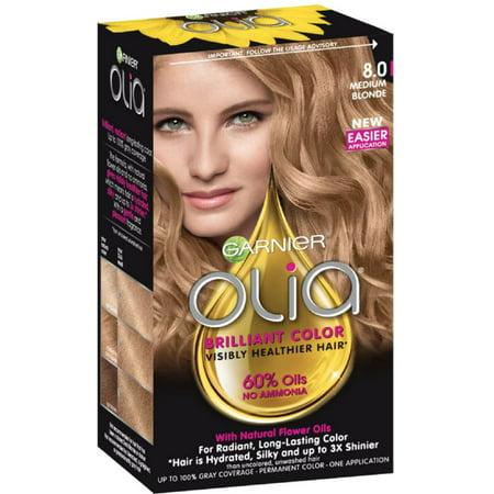 Garnier Olia Ammonia Free Hair Color 8 0 Medium Blonde 1 Each