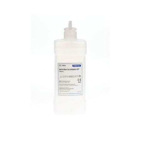 Sterile Water - Sterile water pour bottle, 1000 ml part no. 1065 (12/case)