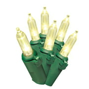 Holiday Time Incandescent-Style LED Christmas Lights Warm White, 300 Count