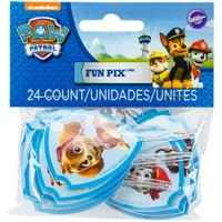 Wilton Nickelodeon Paw Patrol Fun Pix, 24 Ct