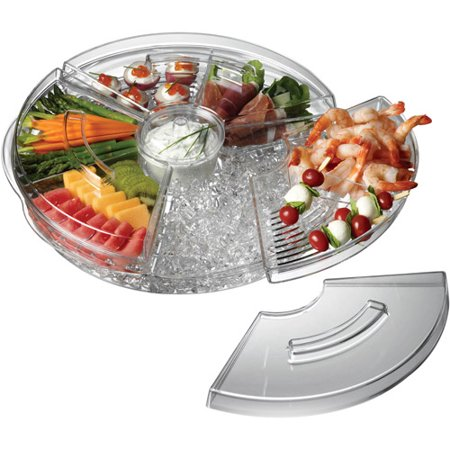 Prodyne Appetizers On Ice Revolving Tray