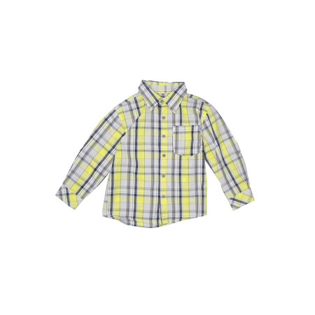 Pre-Owned DKNY Boy's Size 3T Long Sleeve Button-Down Shirt