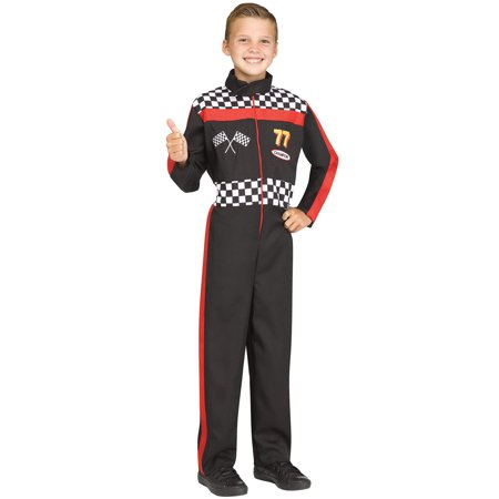 Race Car Driver Child Costume - Child Race Car Driver Costume