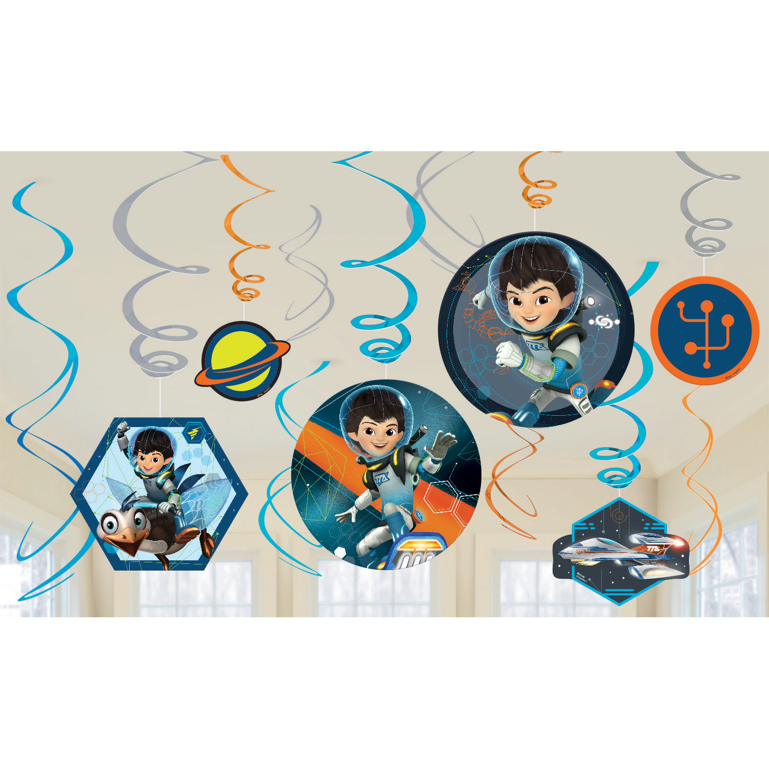 Miles from Tomorrowland Swirl Value Pack 12ct - Party Supplies