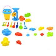 25PCS/Set Beach Sand Toy Funny Plastic Bathing Playing Sandbox Toys Sand Dredging Kit Children Kids Gift