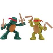 Teenage Mutant Ninja Turtles Ninjas in Training Mikey & Raph Action Figures