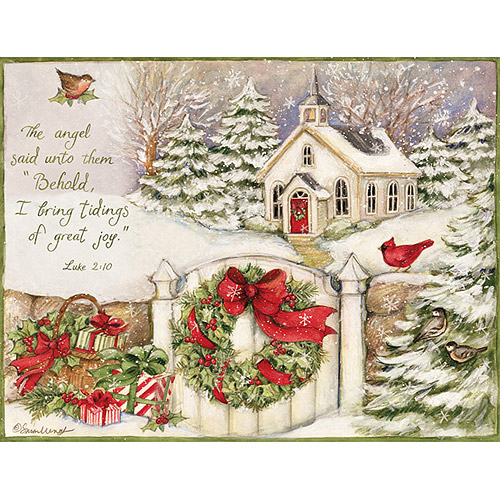 Lang Little Church Assorted Christmas Cards