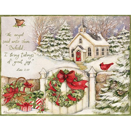 Lang little church assorted christmas cards walmart lang little church assorted christmas cards m4hsunfo