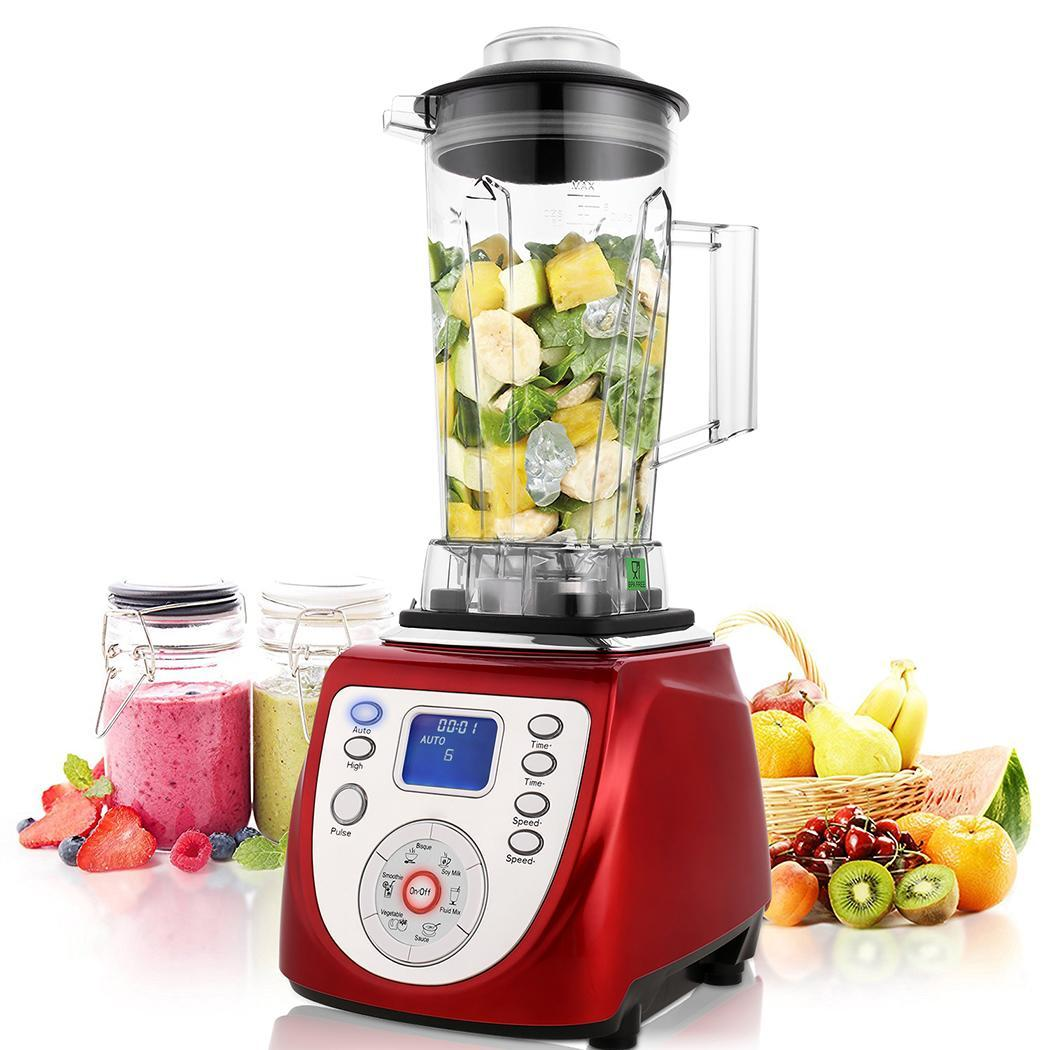1800W  2L High-powered Professional Blender with Mixer Jug  Kitchen System Countertop Blender HITC