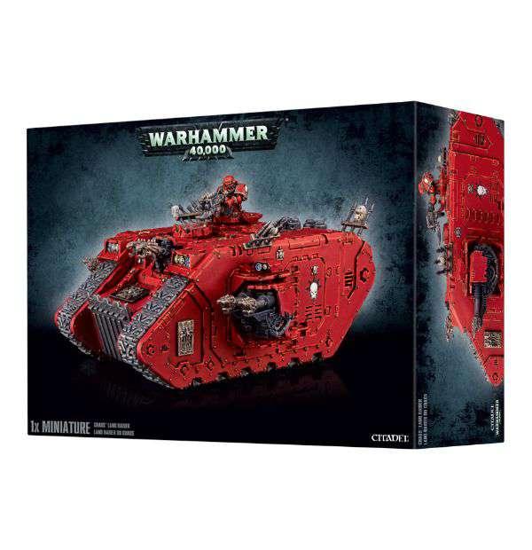 Warhammer 40,000 Chaos Space Marines Land Raider Miniature by GAMES WORKSHOP