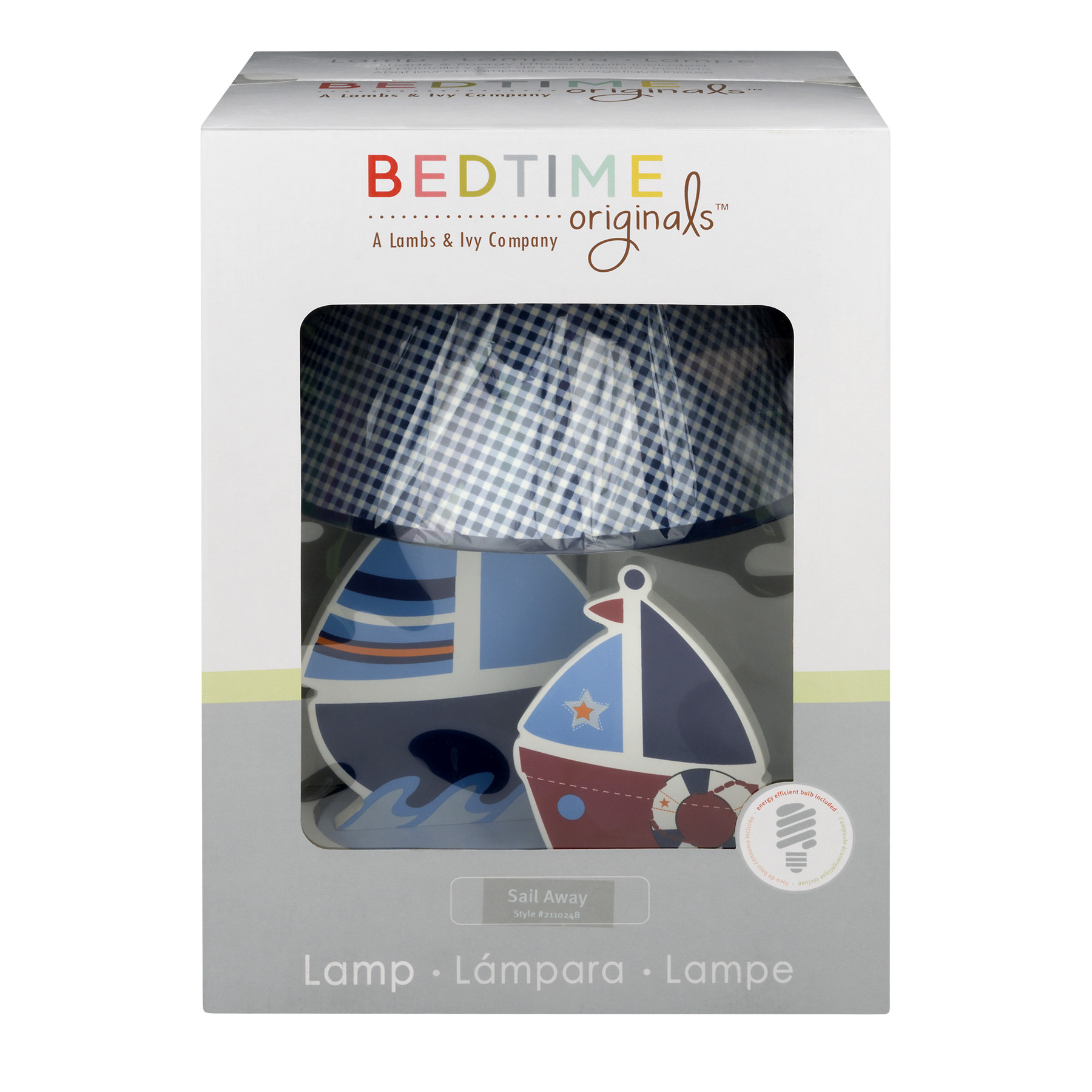 Bedtime Originals Lamp Sail Away -1 CT1.0 CT