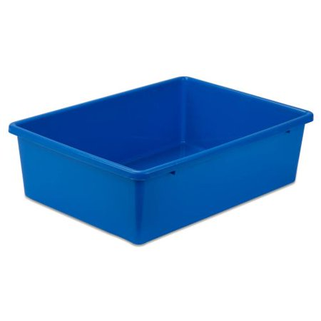 Honey Can Do Lightweight Large Plastic Bin, - Plastic Book Boxes