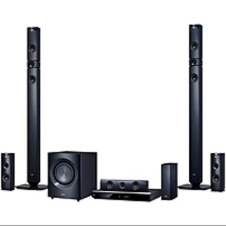 LG BH9431PW 5.1 3D Home Theater System 1460 W RMS Blu-ray (Refurbished) by