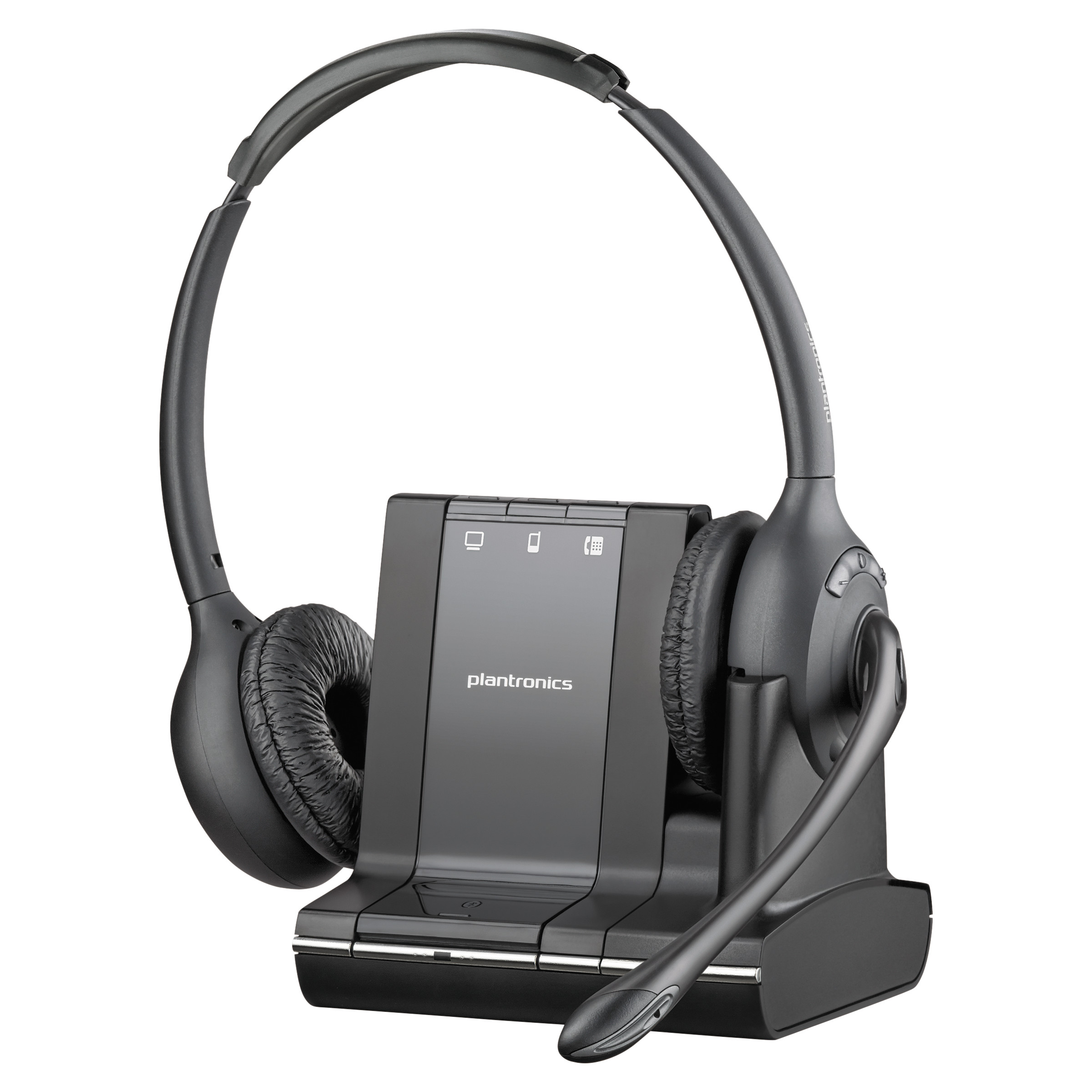 Plantronics Over-the-Head Monaural Phone Headset by Plantronics