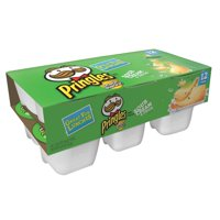 Pringles Potato Crisps Chips, Sour Cream and Onion Flavored, Snack Stacks, 8.8 Oz, 12 Ct
