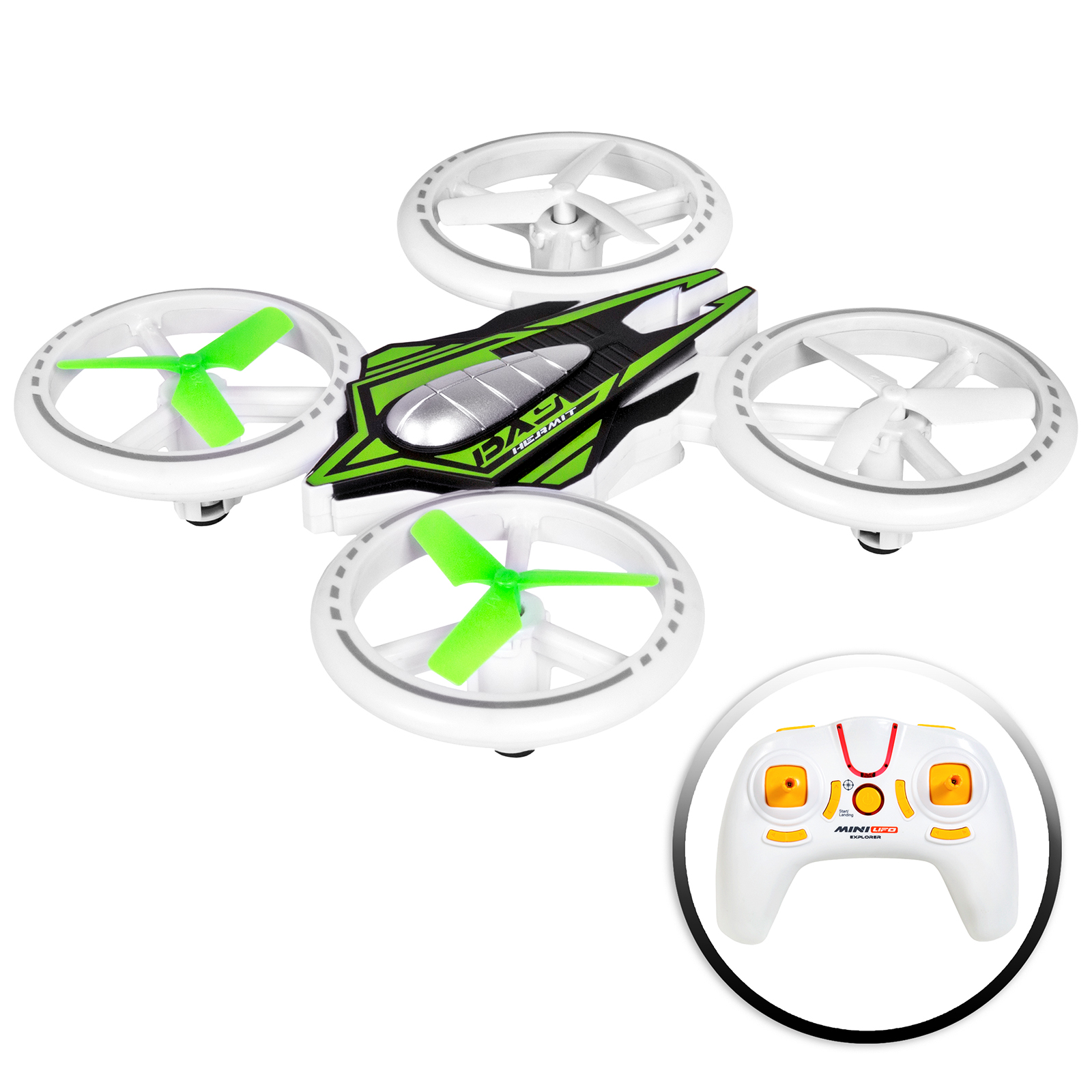 Best Choice Products 2.4GHz Remote Control Light-Up LED RC Drone Quadcopter UFO Star Ship w  Altitude Hold... by Best Choice Products