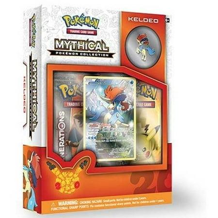 Pokemon Mythical Pin Box, Keldeo