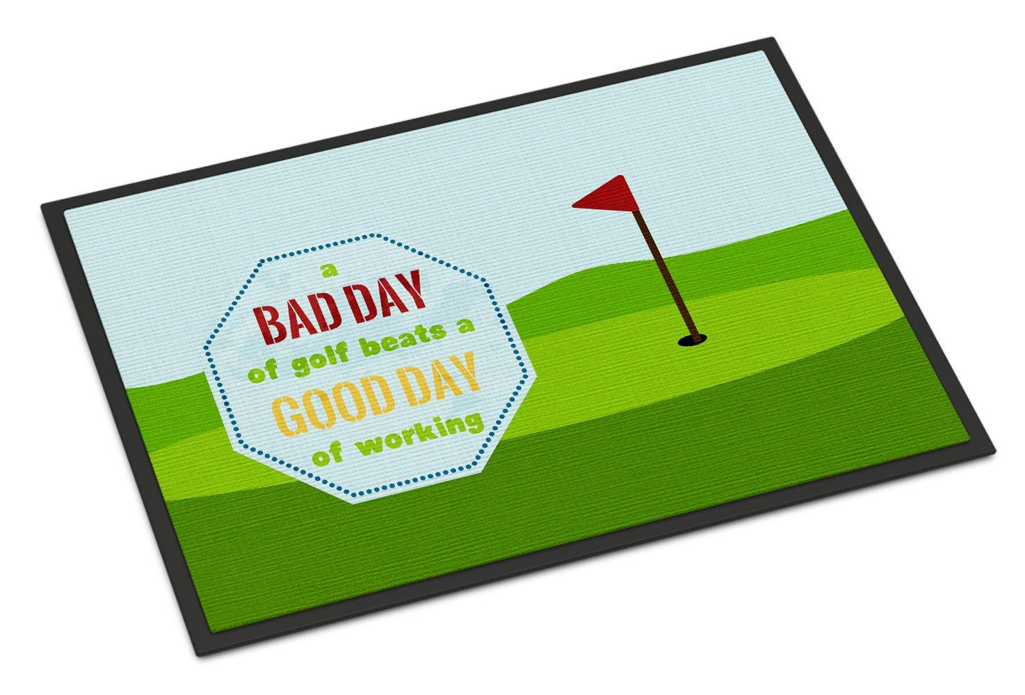 A Bad Day At Golf Door Mat   Walmart.com