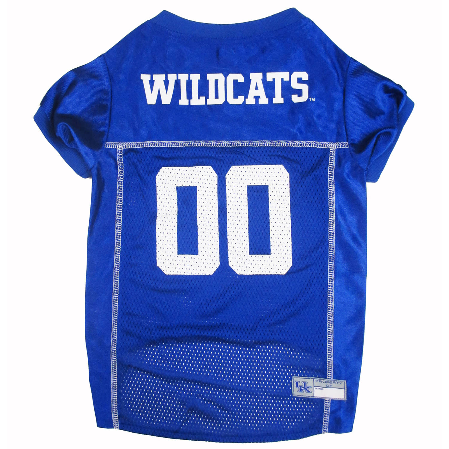 Pets First College Kentucky Wildcats Collegiate Dog Jersey, Available in Various Sizes