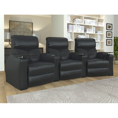 Octane Bolt XS400 3 Seater Curved Power Recline Home Theater