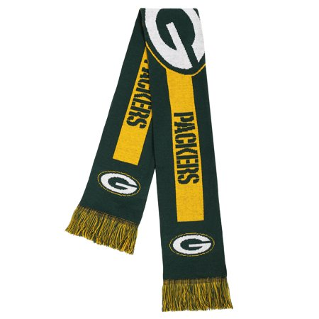 Forever Collectibles - NFL Adult Big Logo Scarf, Green Bay Packers (Green Bay Packers Collectibles)