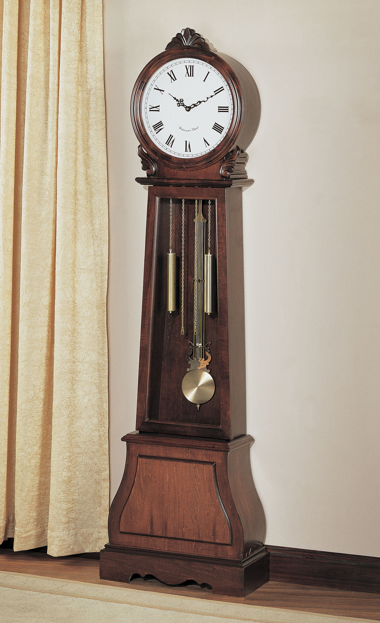 1PerfectChoice Traditional Vintage Grandfather Clock Floor Westminster Pendulum Chimes Brown by 1PerfectChoice