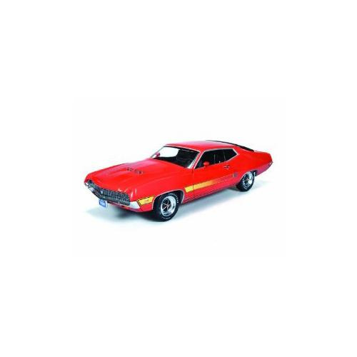 Ford Torino Gt Calypso Orange Limited To Pc  Cast Model Car By