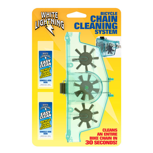 White Lightning Bicycle Chain Cleaner Kit